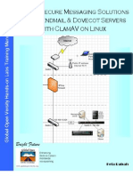 Deploy Secure Messaging Solution using Sendmail & Dovecot Servers with ClamAV on Linux v1.2