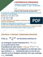 Ecuaciones Diferenciales Ordinarias Uno
