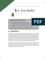 Topik 8 Kos Modal