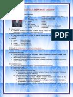 Daftar Riwayat Hidup_dodiet Aditya Setyawan_2014