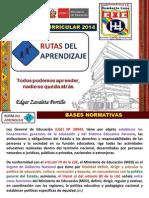 Capacitación Docente Rutas de aprendizaje_2014_HL_ed