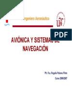 AVIONICA Y SISTEMAS DE NAVEGACIÓN