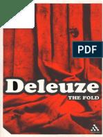 Deleuze, The Fold Leibniz and the Baroque