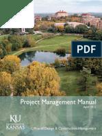 Project Management Manual Ku(2012)