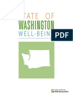 GALLUP-HEALTHWAYS STATE OF WASHINGTON WELL-BEING REPORT