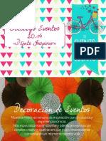 Catálogo Eventos 2014