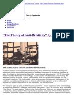 """Theory-of-Anti-Relativity""""-by-E-P-Dollard"""