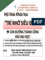 Tri Nho Sieu Dang