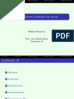 Conf 19 Ajuste de Minimos Cuadrados 2s 2012