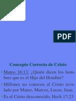 Concepto Correcto de Cristo
