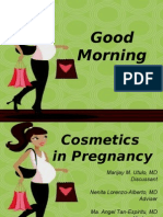 Cosmetics in Pregnancy