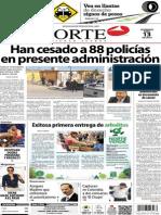 Periódico Norte de Ciudad Juárez edición impresa del 13 abril del 2014
