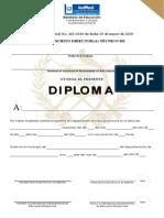 050-12 Diploma Academias Cursos Libres