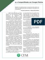 Normas Informativas e Compartilhadas Em Cirurgia Plastica