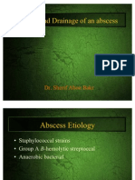 60384381 Incision and Drainage of an Abscess by Sherif Abou Bakr