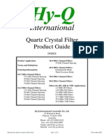 Quartz Crystal Filter Guide