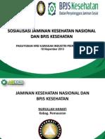 Materi Sosialisasi JKN Dan BPJS Kesehatan Utk TNI