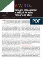 Awri Nitrogen Management Report 22