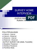 Cara Survey Home Interview