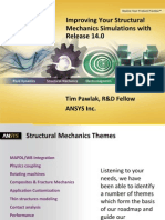 Improving Your Structural Mechanics Simulations with ANSYS Release 14.0