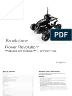 Rover Revolution Manual]