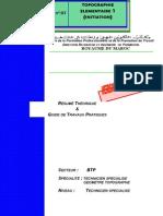 M03-Topographie élémentaire1-Initiation BTP-TSGT