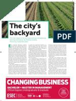 Farming in the City's Backyard