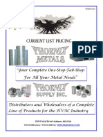 Phoenix Metals Product Catalog 2012