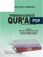 Pendidikan Karakter Qur'Ani
