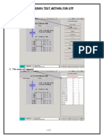 Omicron Test Method for Dtp