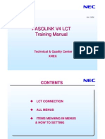 LCT for Pasolink