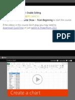 Excel CreateAChart