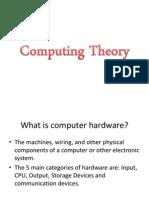 Computing Theory (OCR GCSE)