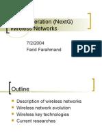 Next Generation (NextG) Wireless Networks