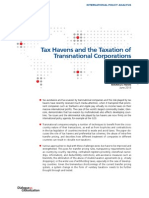 Tax Havens and the Taxation of Transnational Corporations