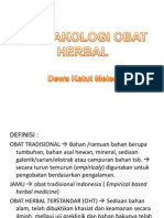 12 Farmakologi Obat Herbal