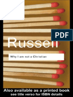Bertrand Russell-Why I Am Not a Christian
