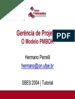 o Modelo Pmbok