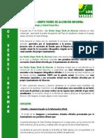 Los Verdes Informan 3