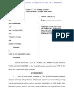Complaint, Keller v. City of Mt. Healthy