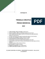 21C Antologia Textos Creatius Prosa Medieval