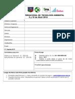 Ficha Inscripcion Congreso2014