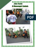 SDN46Parepare- Jalan Santai Sambil Memungut Limbah