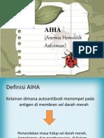 anemia hemolitik autoimun