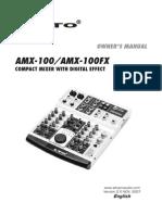 Alto Amx100 Manual Ingles