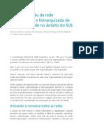 Hierarquização e atenção a saúde - SUS