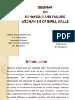 behaviour of Infill walls