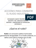 Acciones Para Combatir El Ruido Industrial