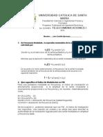 Exam 3ro TELE 1 2011