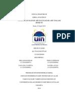 Jurnal Praktikum Analitik Penentuan Kadar Air Dan Abu Dalam Biskuit